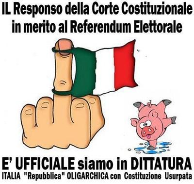 referendum, legge elettorale, porcellum, mattarellum, democrazia, corte costituzionale, costituzione, legge, parlamento, politica, partiti, candidato, elezione