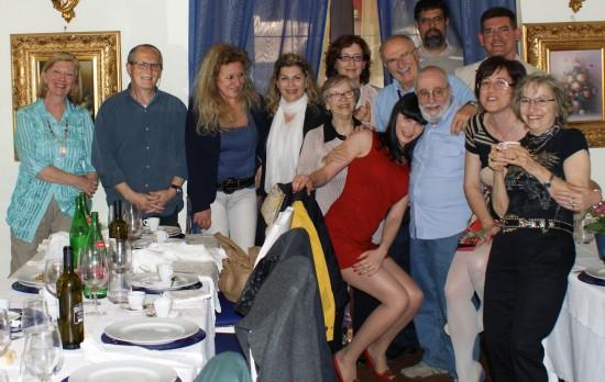 aldo il monticiano,incontro bloggers,roma,piazza vittorio,parco,ristorante,amici,rete,via della polveriera,incontro